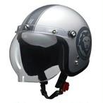 LEAD ジェットヘルメット MOUSSE 70th 限定モデル マットシルバー