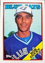 MLBカード 88TOPPS Rob Ducey #438 BLUEJAYS