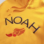 Winged Foot Embroidered Hoodie(Gold Fusion)