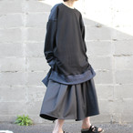 Hakama-Pants (black stripe)