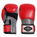 GOSSA ボクシンググローブ 【レッド&グレー】