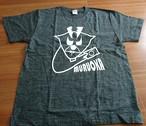 ヘザーブラックTシャツ(むるおかブランド)