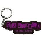 SIX LOUNGE [LOGOラバーキーホルダー](3種)