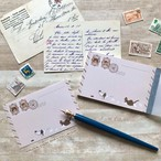 猫たちの郵便局 メモパッド