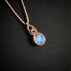 オーストラリアンオパール macrame necklace