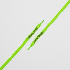 "FLAT LACES SOLID ""SHOELACES/NEON GREEN"""
