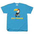 ZOO PRAHA Toucans cyan blue