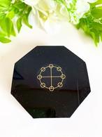【アウトレット】表面に傷あり・八角プレート型オルゴナイト(ヤタノカガミ)