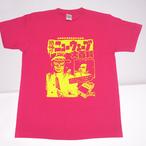 ロマンポルシェ。Tシャツ (大百科・ピンク)RP-KYT001P