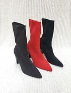 予約注文商品 ハイソックスブーツ ソックスブーツ ブーツ 韓国ファッション