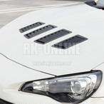 VERUS ENGINEERING(VELOX):A0065A:TOYOTA 86/SUBARU BRZ フードルーバーキット:新モデル4枚セット