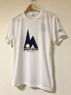 hs-21 ACTIVE 『peace tree』 T-SHIRT ・ホワイト