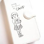 GIRLS CAMP 手帳型スマホケース