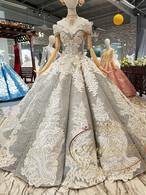 刺繍 オートクチュール 高級ドレス 花嫁 特注品 オーダーエイド可能 大き目サイズ 可能 ウェディングドレス ピンク ドレス 結婚式 二次会 パーティードレス ウエディング ブライダル 大きいサイズ 披露宴 ブライダルドレス