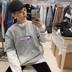 [即納]韓国ファッション ParagraphバンダナワールドロゴTシャツ
