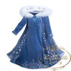 クリスマス ウィンター こども コスプレ アナ雪 エルサ かわいい マント ファー