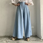 import cotton wide pants