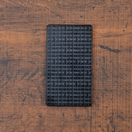 クロススクエア《ブラック》ジュラルミン アルミ 金属 名刺入れ カードケース ギフト 高級