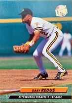 MLBカード 92FLEER Gary Redus #560 PIRATES