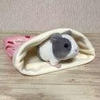 もるちゃんの寝袋(いちご)