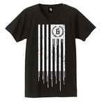 Gears and Stripes T-shirts [black]