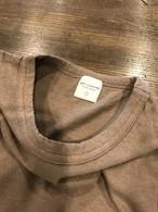 edit clothing Linen natural wash binder tee(リネンナチュラルウォッシュバインダーT/モカ)