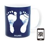 ai mug   A-type (NAVY) QRコード付き