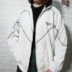 ○ 90s vintage Reebok shoulder embro nylon jacket ○