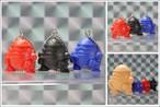 ②スク卵ブル・T キーホルダー3体セット  / ブラックメタルキャンペーン対象商品