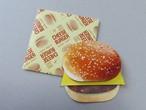 チーズバーガー メッセージカード