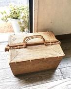 アタ ピクニックバスケット/裁縫道具ボックス