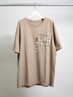 Remake Carhartt Pocket T-shirt ベージュ メンズM