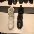 ぺディンベルトブーツ ブーツ フラットブーツ 韓国ファッション