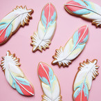 ICING COOKIE(Feather no,1)