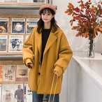 レトロ ヴィンテージ ウール コート ジャケット【0908】