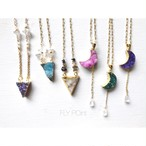 - druzy necklace < 3 type > -
