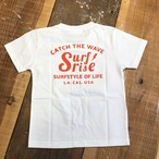 ★Kids★ CatchTheWave Tee - White