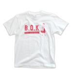 B.O.K T-shirt -scarlet ver.-