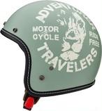 MARUSHIN マルシン オープンジェットヘルメット LEO SCJ3 ナチュラルペパーミント M