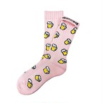 """""""Beer -shell pink-"""" Socks (limited edition by EAZY MISS)"""