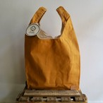 Paraffin Canvas Tote Bag (Yellow)