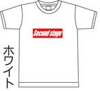 ボックスロゴTシャツ 5.6oz white&black