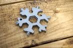 スノーフレーク(雪の結晶)マルチツール ワケあり品(送料込み)