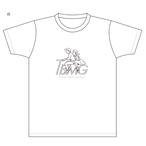 【復刻! ぼくのうしろは君の席Tシャツ】01ホワイト