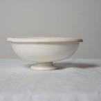 瀬川辰馬 Tatsuma Segawa   チタン釉 脚付き鉢
