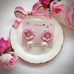 flower drop♡antique pink