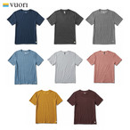 VUORI ヴオリ STRATO TECH TEE メンズ ストラト テック Tシャツ 半袖Tシャツ 5036006