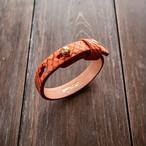 本パイソン革ブレスレット Python Leather Bracelet