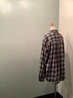 【ユニセックス】フランネルチェックシャツ
