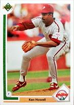 MLBカード 91UPPERDECK Ken Howell #488 PHILLIES